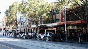 Melbourne Street View Royalty Free Stock Images