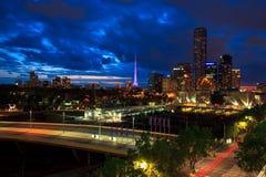 Melbourne sul Foto de Stock Royalty Free