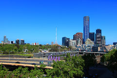 Melbourne sul Fotos de Stock Royalty Free