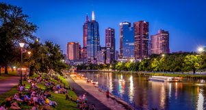 Melbourne Summer's Eve Stock Photos