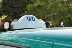 Melbourne taxi sign Royalty Free Stock Photography