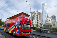 Melbourne tour bus Royalty Free Stock Photography