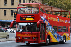 Melbourne tour bus Royalty Free Stock Images