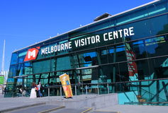 Melbourne Tourism Stock Photo