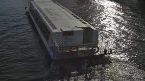 Melbourne tourist boat stock video
