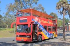 Melbourne tourist bus tourism Stock Photos