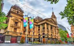 Melbourne Town Hall in Australia. The State of Victoria Stock Images