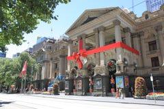 Christmas decoration Melbourne Stock Photography