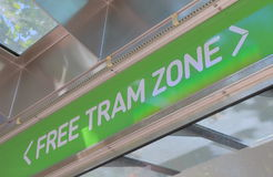 Melbourne tram Stock Photography