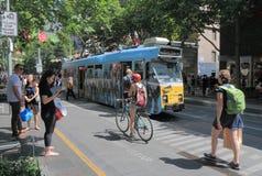 Melbourne tram Stock Images