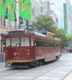Melbourne Tram restaurant Stock Photos