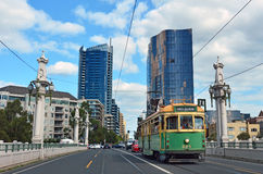 Melbourne tramway network Royalty Free Stock Images