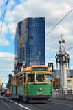Melbourne tramway network Royalty Free Stock Photos