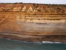Melbourne Twaalf Apostelen - Teken van Erosie Royalty-vrije Stock Afbeeldingen