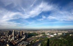 Melbourne und jenseits stockbilder