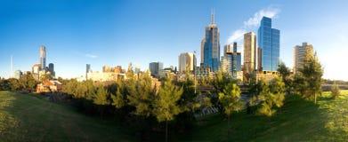 Melbourne verde Fotografie Stock Libere da Diritti
