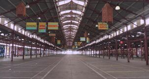 Famous Melbourne landmark Queen Victoria Markets closed due to the pandemic