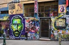 Australia, Victoria, Melbourne, Graffitti Royalty Free Stock Photo