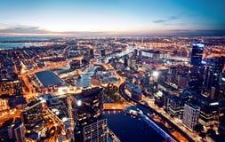 Melbourne, Victoria, Austrália Foto de Stock Royalty Free