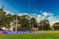 Australian Rules Football posts at Ardent Street Park