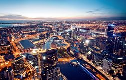 Melbourne, Victoria, Australien Lizenzfreies Stockfoto