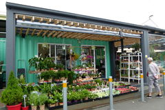 Melbourne Victoria Street Market Stockbild