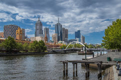 Melbourne View 8 Stock Images