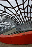 Melbourne, Webb Brücke Stockbild