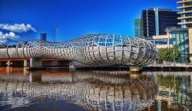 Melbourne Webb Bridge Stock Images