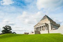 melbourne wspominania świątynia Fotografia Royalty Free