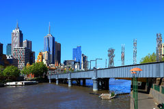 Melbourne - Yarra River Royalty Free Stock Image