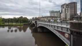 Melbourne Yarra River Royalty Free Stock Image