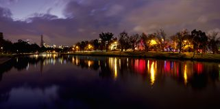 Melbourne and the yarra river Royalty Free Stock Photography