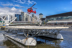 Melbournes Heliport Stock Images