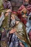 Melchior Biblical Magi imagem de stock royalty free
