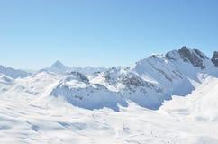 Melchsee-Frutt,瑞士 免版税库存图片