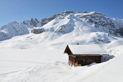 Melchsee-Frutt, Suíça foto de stock