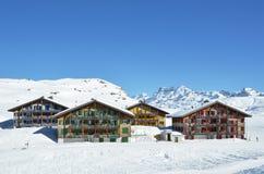 Melchsee-Frutt, Suíça Fotografia de Stock Royalty Free