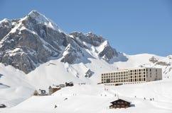 Melchsee-Frutt. Suíça imagem de stock
