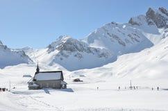 Melchsee-Frutt, Suíça fotos de stock