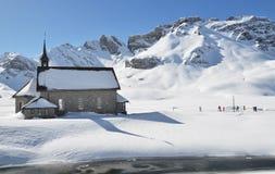 Melchsee-Frutt, Svizzera Fotografie Stock Libere da Diritti