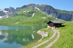 Melchsee, Suíça imagens de stock