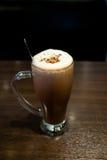 Melcocha del chocolate caliente Foto de archivo libre de regalías