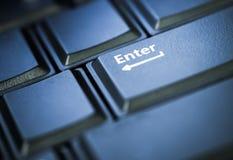 Melden Sie Knopf in zurückhaltendes an Lizenzfreies Stockfoto