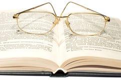 Melden Sie mit Gläsern an Lizenzfreie Stockfotografie