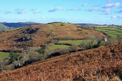 Meldon hill, Dartmoor Stock Photos