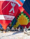 Mele di festival nella neve 2015 Fotografia Stock