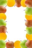Mele ed arancio della pagina illustrazione vettoriale