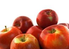 Mele rosse mature Immagine Stock Libera da Diritti