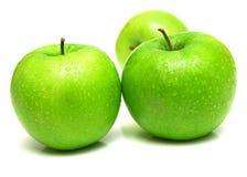 Mele verdi sugose 6 Fotografia Stock